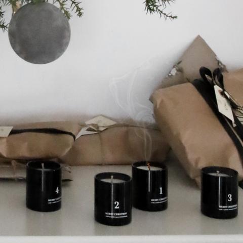 Bilde av Advent Candles, Black