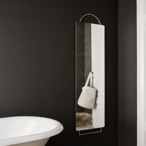 Bilde av Adorn speil - messing - stor