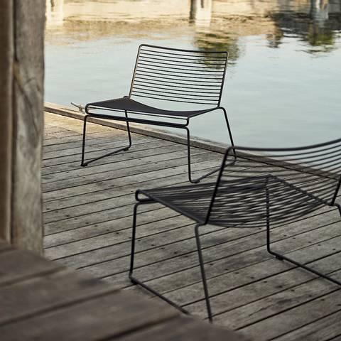 Bilde av Hee Lounge Chair HAY Black