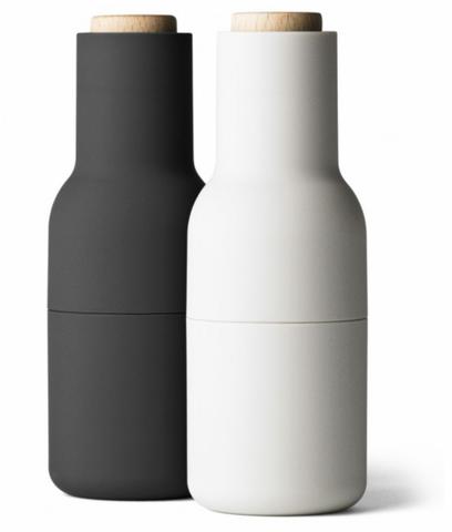 Bilde av Bottle Grinder Ash/Carbon Bøk