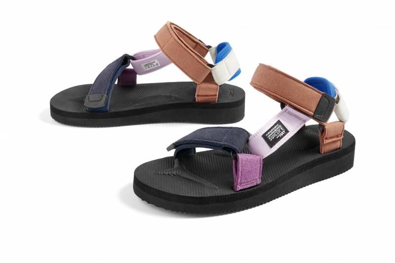 HAY x Suicoke Sandal Touch of Blue
