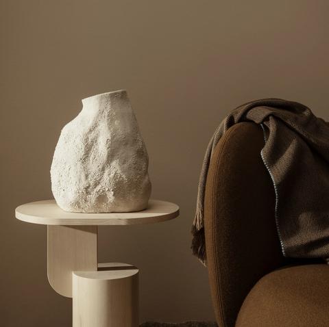 Bilde av Vulca Vase Off White Medium