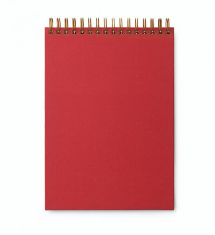 Bilde av Notatbok spiral Rød