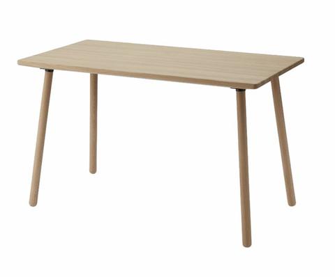 Bilde av Georg desk, 4 legs, oak