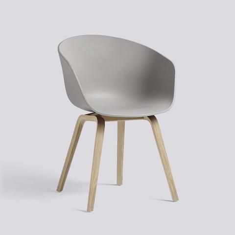 Bilde av AAC 22 Concrete Grey stol HAY