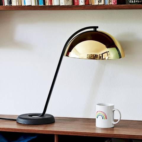 Bilde av Cloche Bordlampe HAY Brass