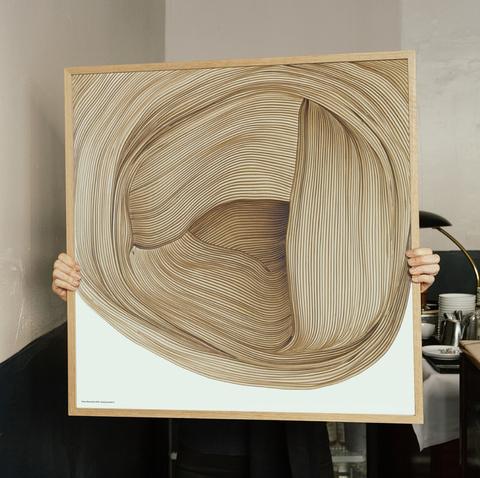 Bilde av Poster, Drawing 5 Ronan