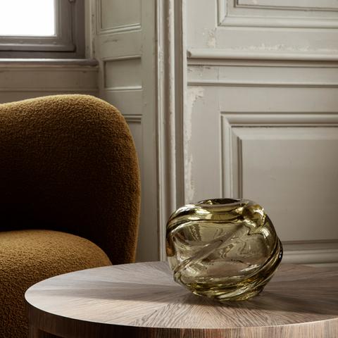Bilde av Water Swirl Vase, Round